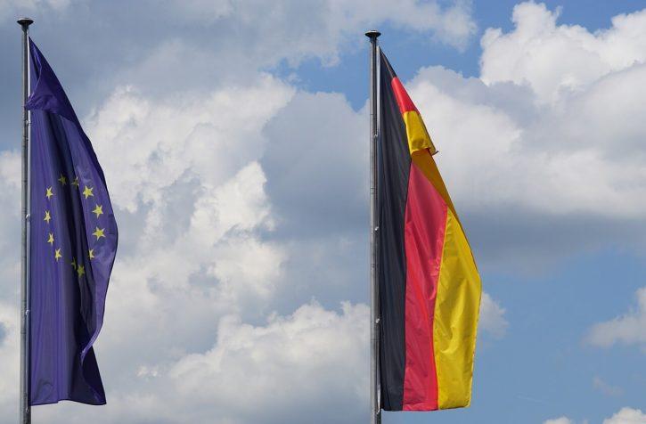 Vlajka Evropská unie, Německo