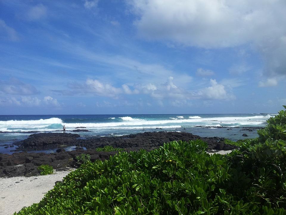 Nízko položené ostrovy jsou nejvíce ohroženy nárůstem hladiny moří.
