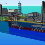 Koncept plovoucí elektrárny na LNG je v souladu s normami
