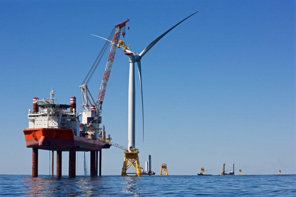 Offshore větrné elektrárny