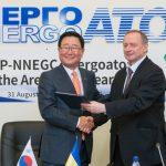 Ukrajina a Jižní Korea stvrdily spolupráci v jaderné energetice