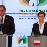 Polsko podpoří ratifikaci Pařížské dohody, nebude to však zadarmo