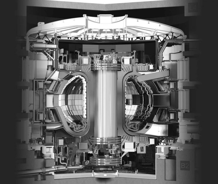 Experimentální tokamak ITER; Zdroj: iter.org