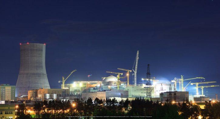Výstavba nových bloků Novovoroněžské jaderné elektrárny (zdroj Rosatom).