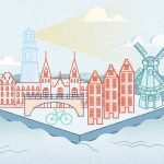 Amsterdam v roce 2050: moderní město bez fosilních paliv