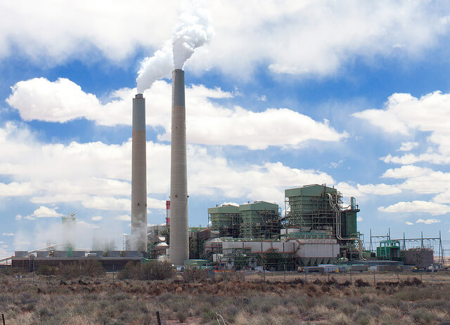 Uhelná elektrárna Arizona, USA