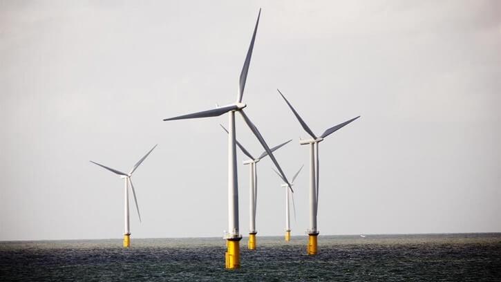 Offshore větrné turbíny