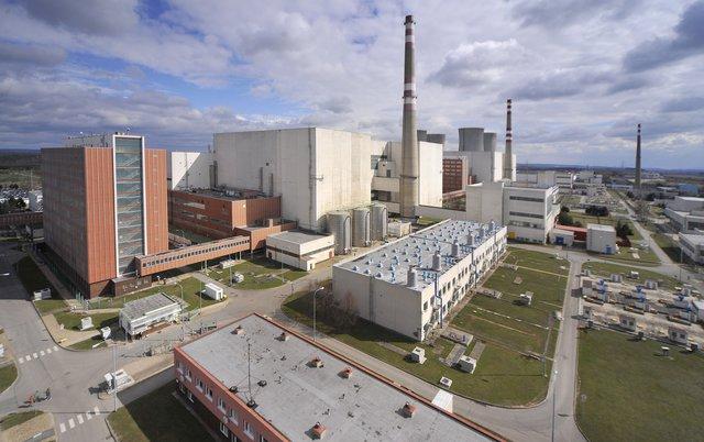 Jaderná elektrárna Dukovany. Zdroj: ČEZ