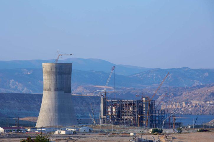 Turecká elektrárna Yunus Emre
