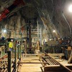 Kaverna elektrárny Reißeck II umístěná v nitru hory. Zdroj: Verbund