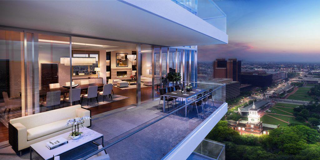 Rezidence klade velký důraz na luxusnost a technologickou vyspělost celého projektu. Zdroj: 500 Walnut