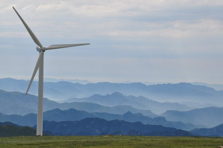 větrné elektrárny, wind turbines