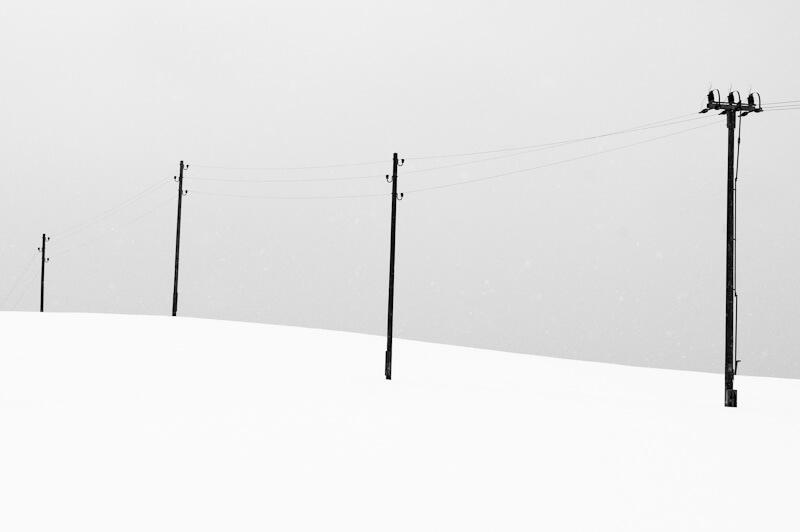 Vedení v zimě
