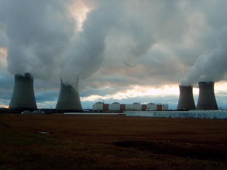 Francouzská jaderná elektrárna Dampierre