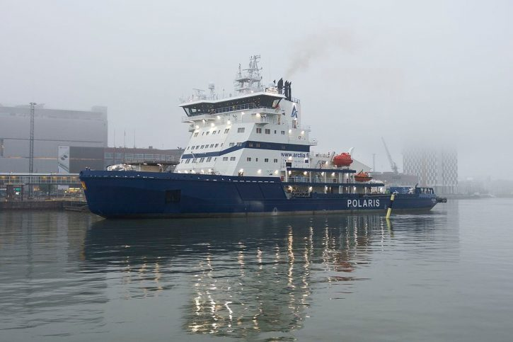 Polaris ledoborec LNG Finsko
