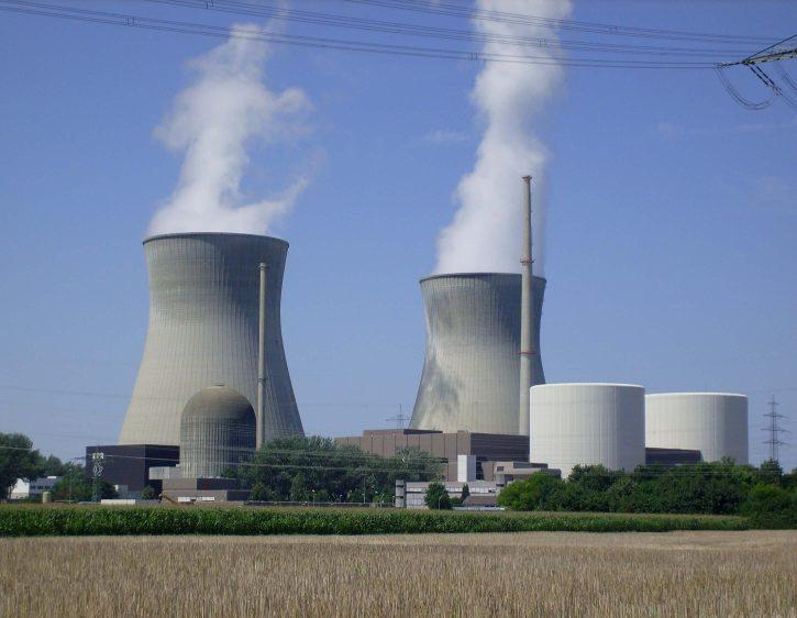 Elektrárna Gundremmingen společnosti RWE