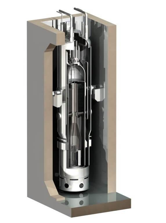 NuScale reaktor