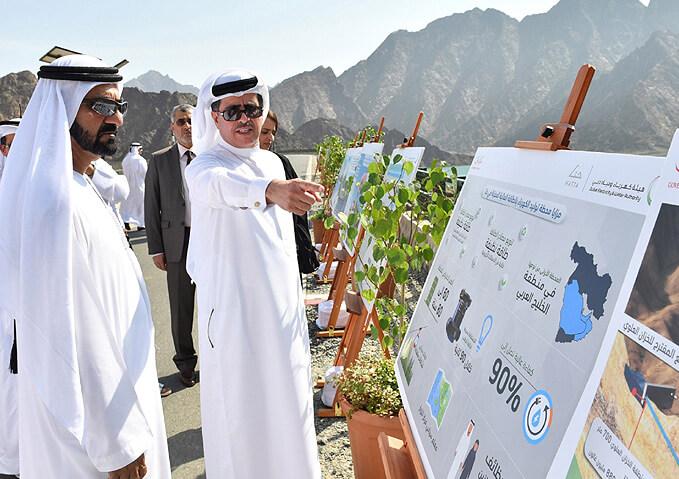 Představení projektu první přečerpávací vodní elektrárny v SAE