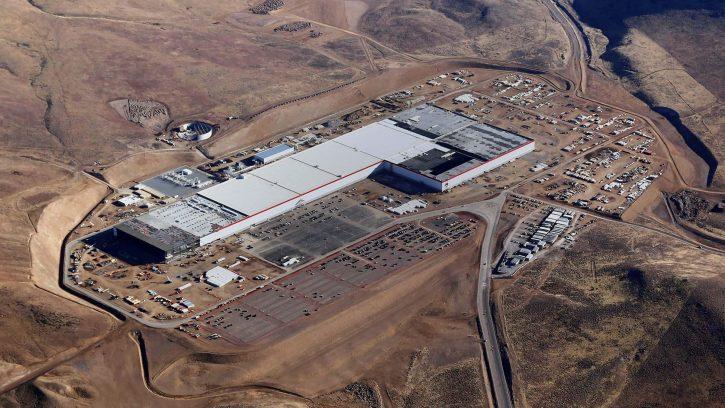 Tesla Gigafactory. Zdroj:Tesla