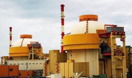 Elektrárna Kudankulam se dvěma bloky VVER1000 (zdroj Rosatom)