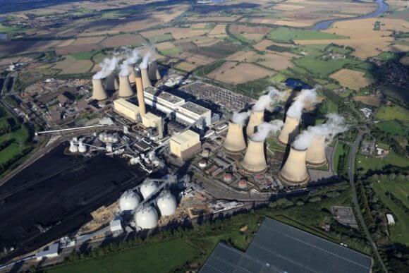 Uhelná elektrárna Drax byla předělána na spalování pelet (zdroj: Drax)