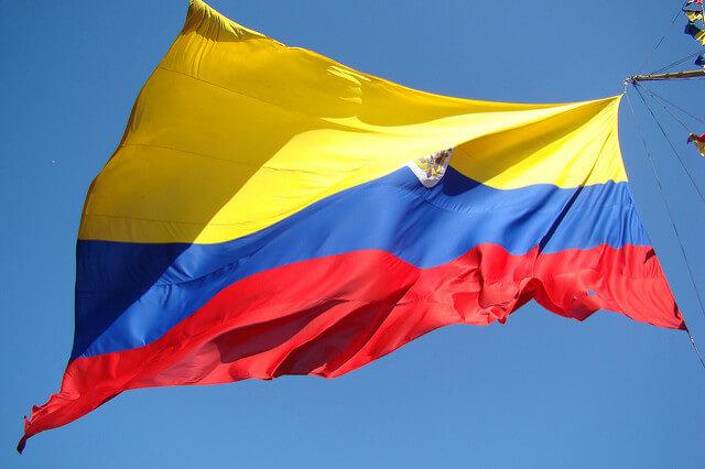 vlajka Kolumbie, flicker