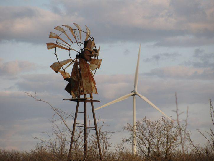 Stará větrná elektrárna