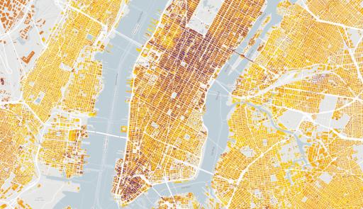 Model Google pro část města New York. Zdroj: Oficiální blog Google