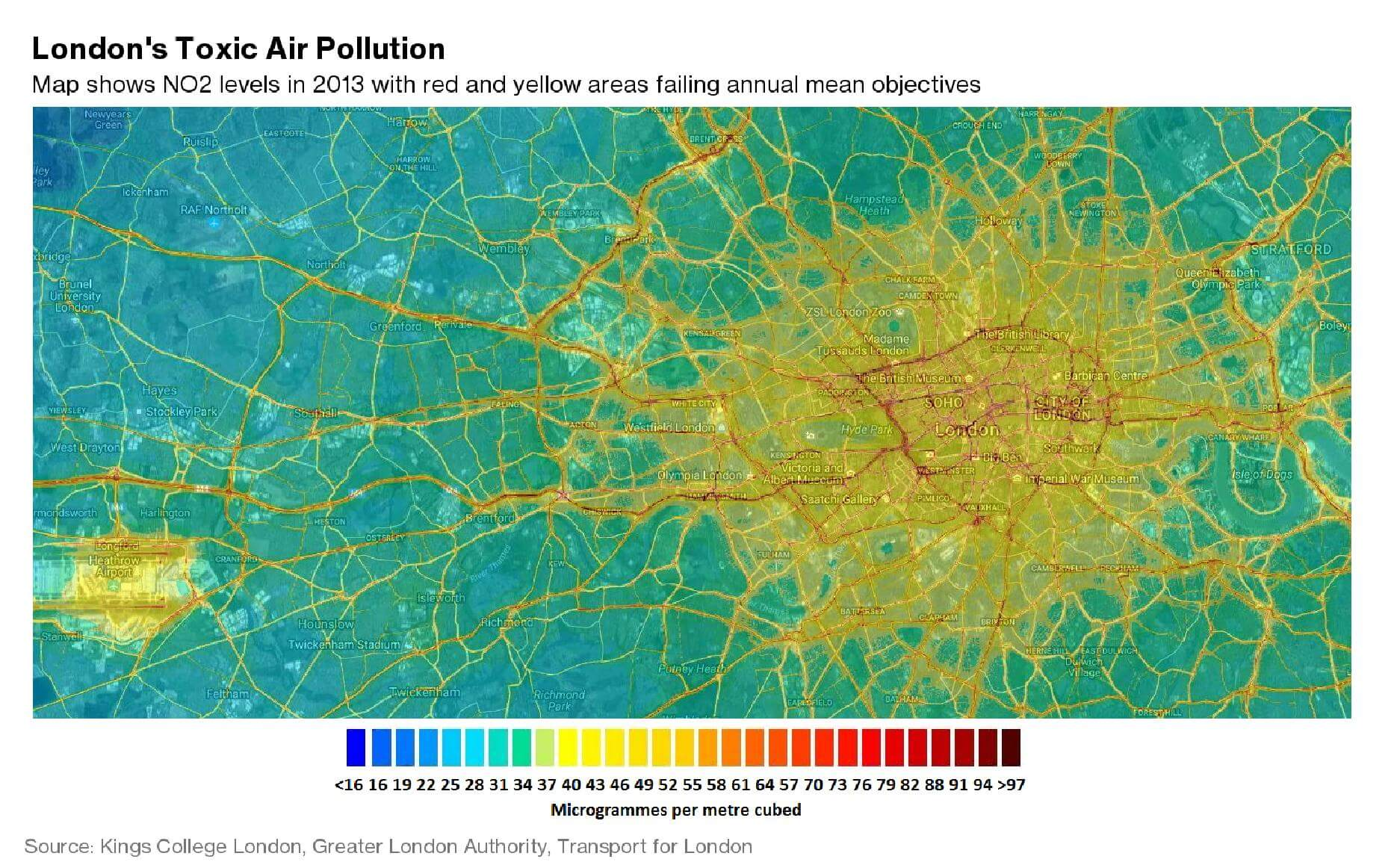 pollution london