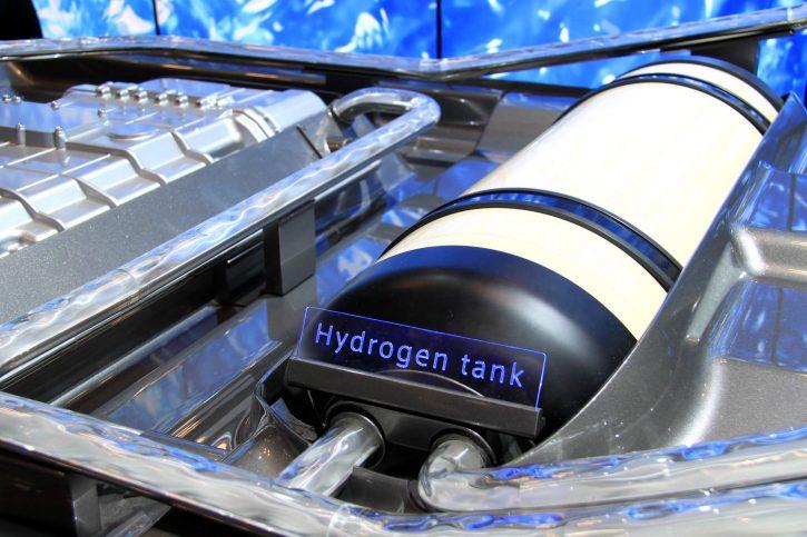 Vodíková palivová nádrž. Autor: Joseph Brent (flickr)