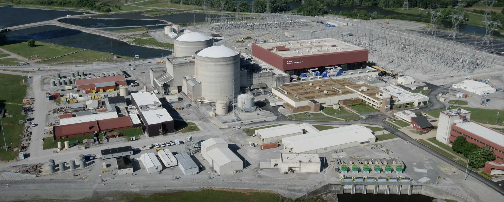 Jaderná elektrárna Sequoyah; Zdroj: Tennessee Valley Authority