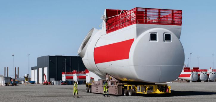 Siemens wind turbine rotor. Zdroj: Siemens