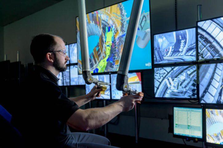 Centrum RACE se zaměřuje na technologie dálkového ovládání v náročných prostředích. Zdroj: RACE