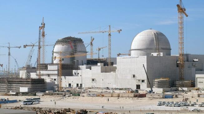 Výstavba jaderné elektrárny Barakah. Zdroj: www.iaea.org