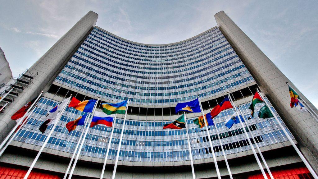 Sídlo Mezinárodní asociace pro atomovou energii ve Vídni; Zdroj: IAEA (MAAE)