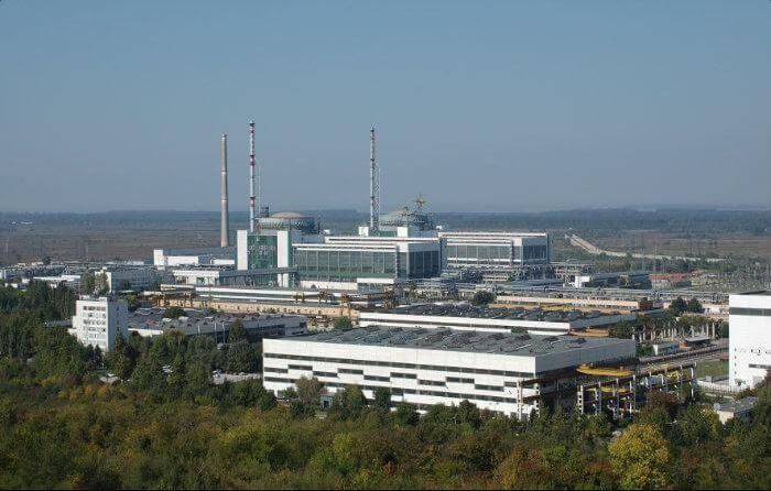 Jaderná elektrárna Kozloduj. Zdroj: wikimapia.org