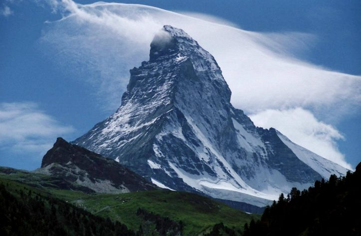 Matterhorn Zdroj: wikimedia
