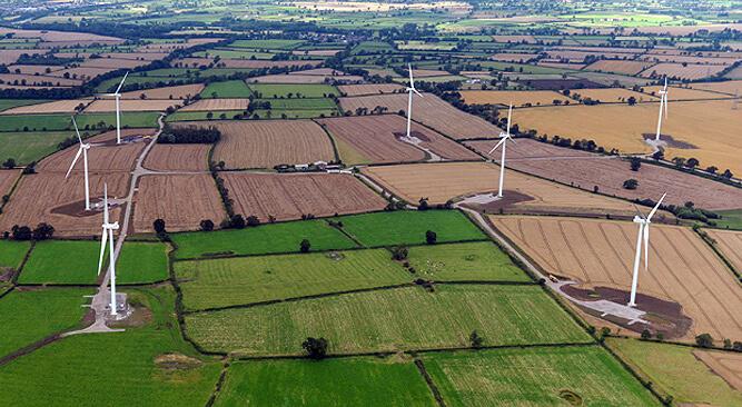 Větrný park Pen y Cymoedd společnosti Vattenfall ve Walesu. Zdroj: Vattenfall