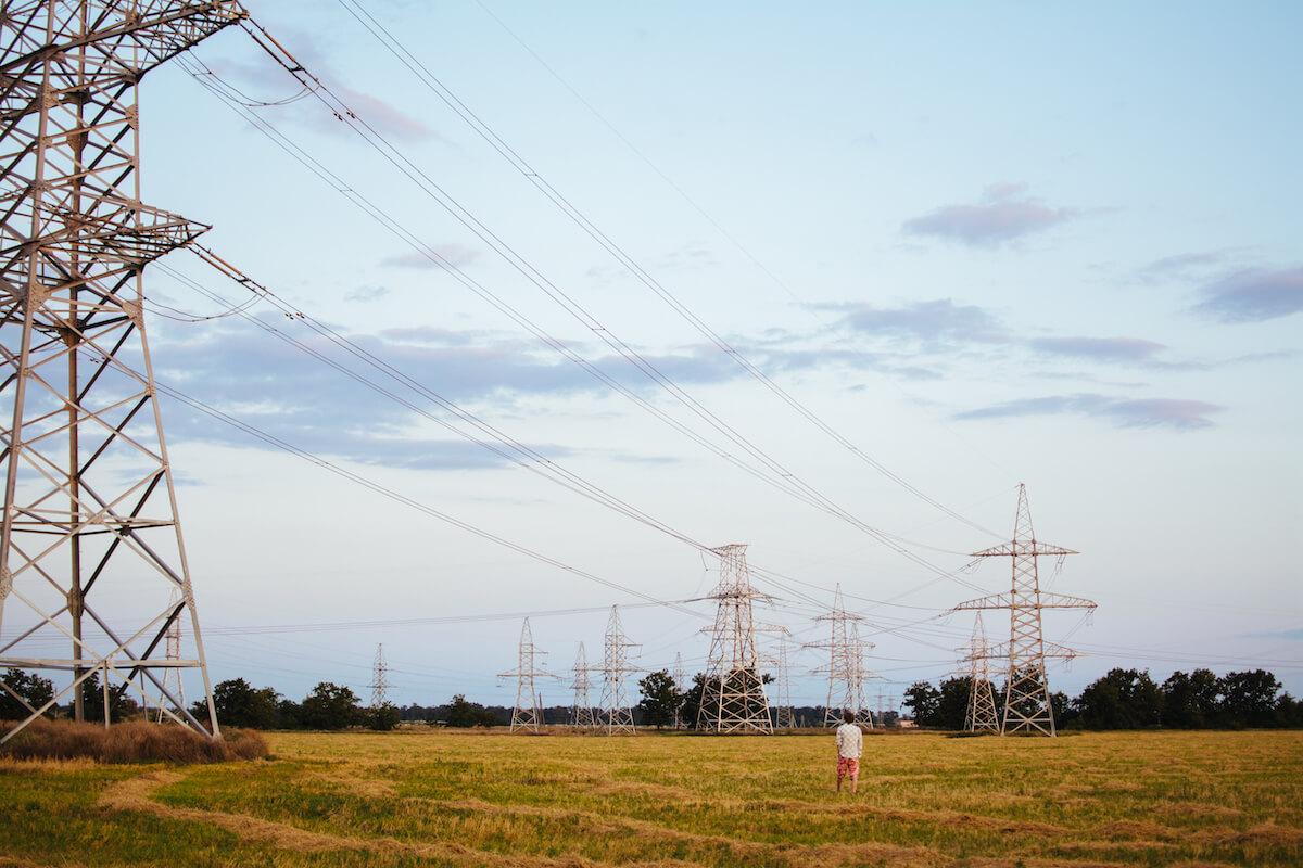 Přenos elektřiny, vedení