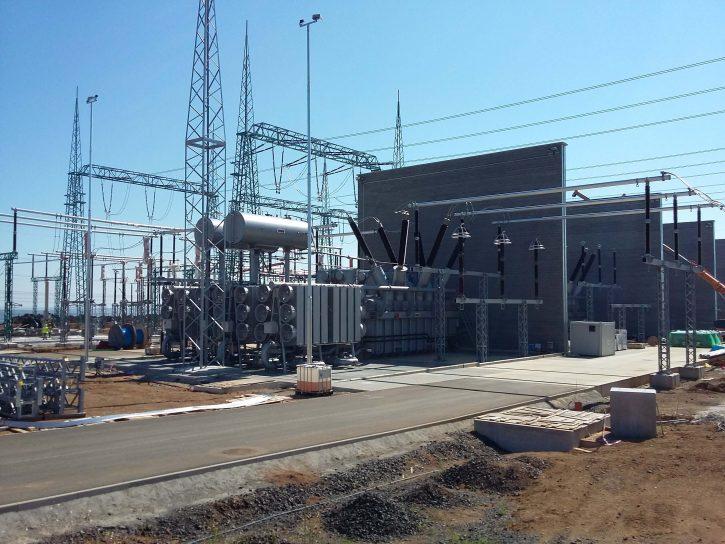 Regulační PST transformátory ČEPS. Zdroj: vlastní