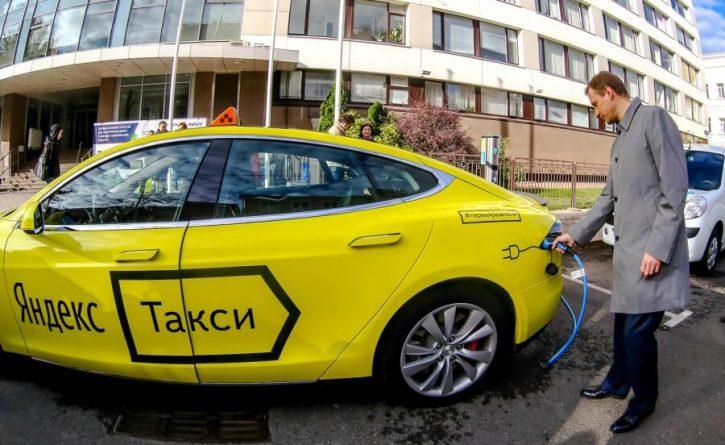 Taxi ruské společnosti Yandex