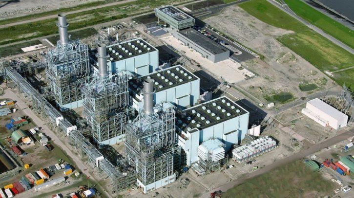 Paroplynová elektrárna Magnum v Nizozemsku