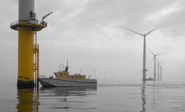 Údržba offshore větrných elektráren