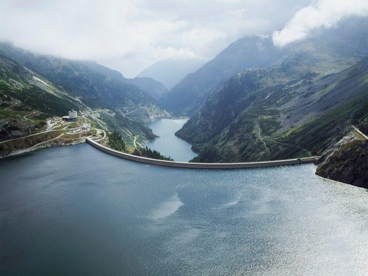 Vodní přehrada Kölnbrein, Rakousko, zdroj: Verbund