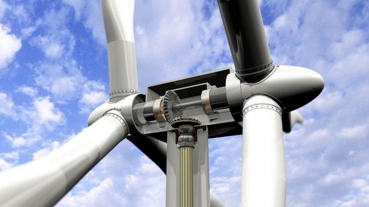 Větrná elektrárna s dvěma rotory. zdroj: http://www.airgenesiswind.com/