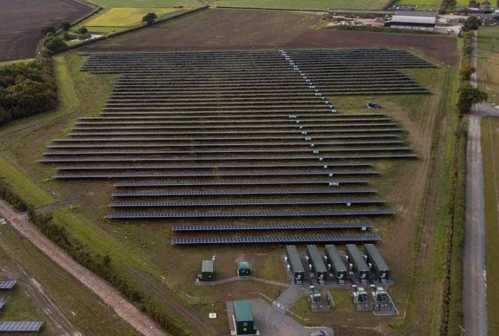 Fotovoltaická elektrárna Clayhill. Autor: ANESCO