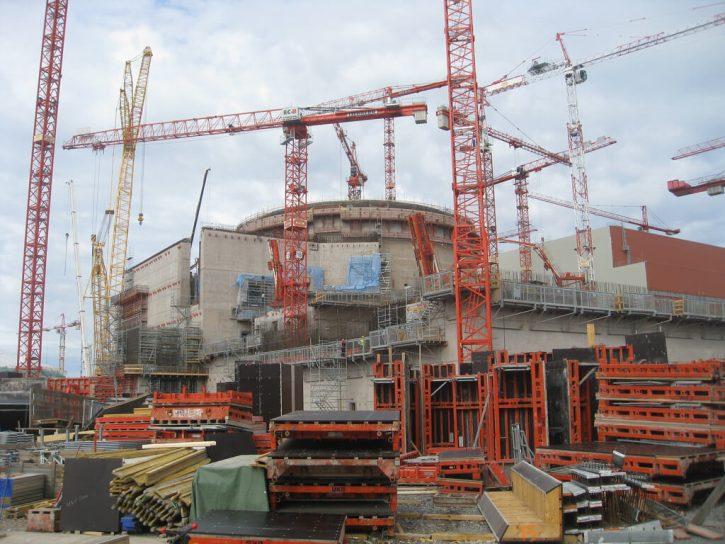 Výstavba jaderné elektrárny Olikiluoto