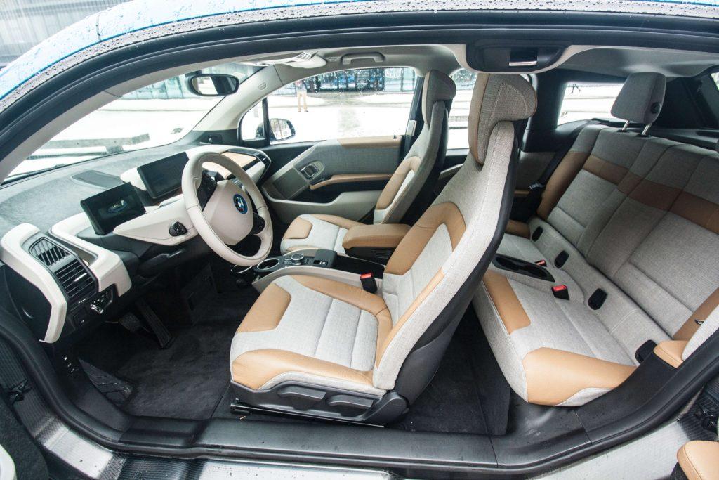 Interiér BMW i3, foto: Tomáš Jirka pro oEnergetice.cz