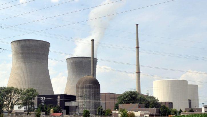 Německá jaderná elektrárna Gundremmingen B+C