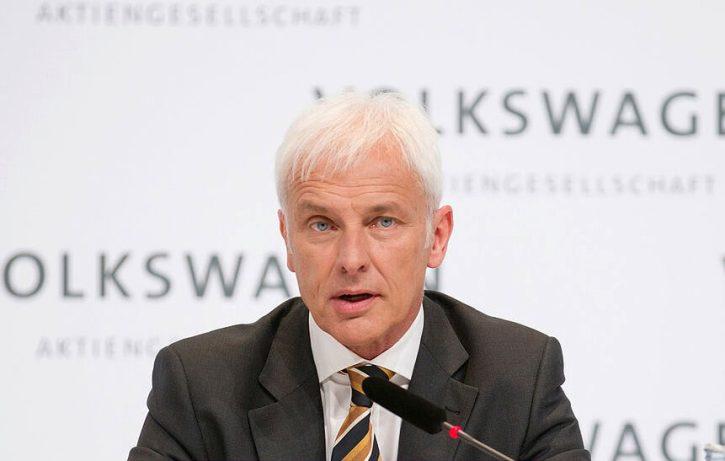 Matthias Müller, generální ředitel Volkswagen